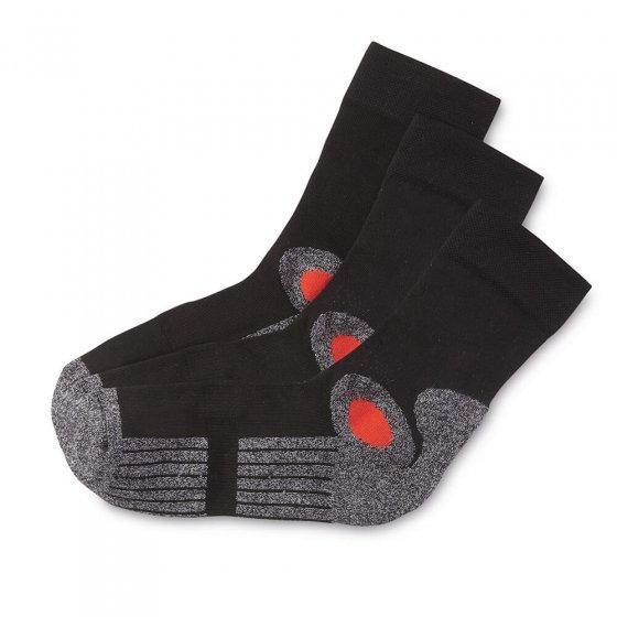 Chaussettes actives en coton Par lot de 3 paires