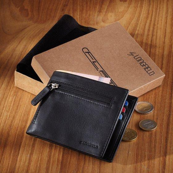 """Porte-monnaie cuir  """"flat wallet"""""""