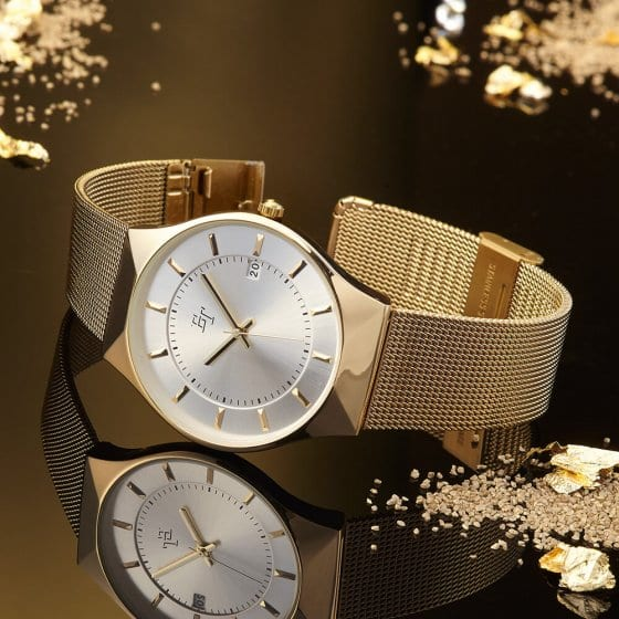 """VOTRE CADEAU : une montre milanaise """"GOLD"""""""