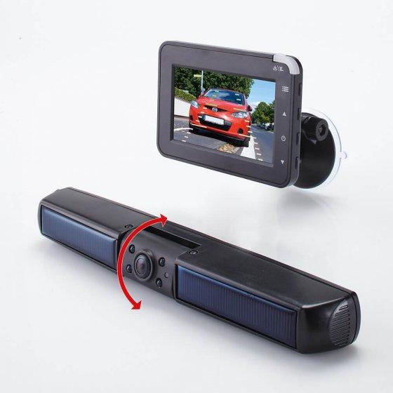 Système de caméra de recul solaire sans fil