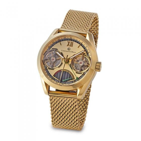 "Montre automatique  ""double heart"""