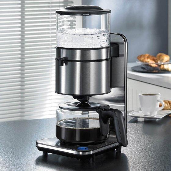 Machine à café en acier inox