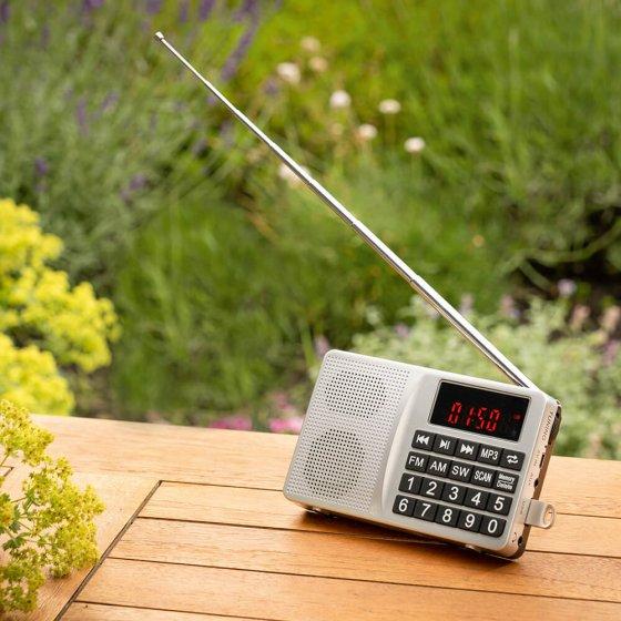 Radio multifonction compacte