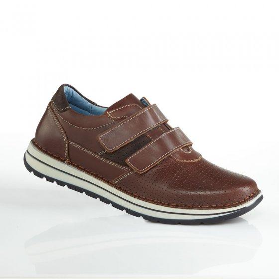 Chaussures sportives à patte auto-agrippante