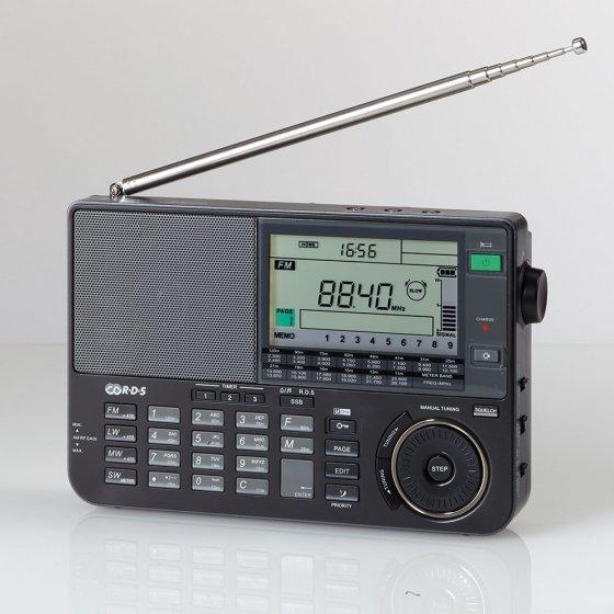Récepteur radio multi-fréquence