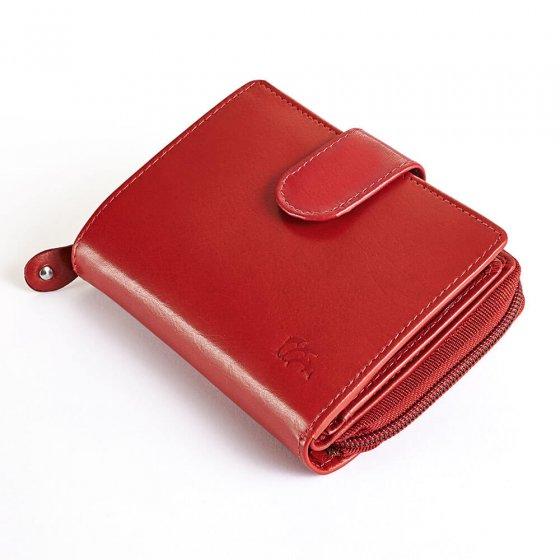 Porte-monnaie en cuir pour femme