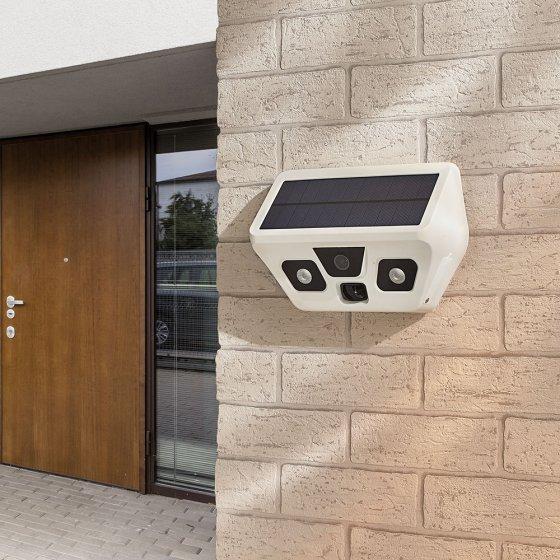 Caméra d'extérieur solaire USB