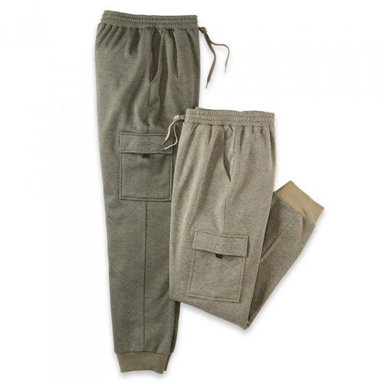 Pantalon cargo détente Lot de 2