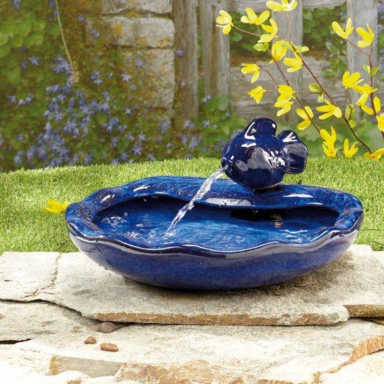 Fontaine solaire poisson