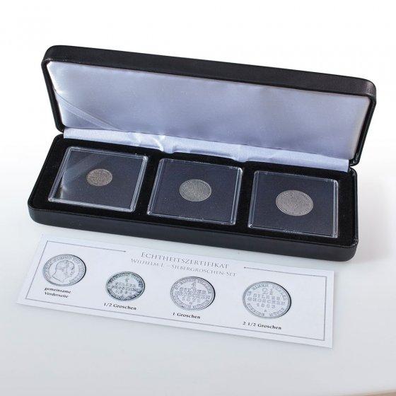 """Assortiment numismatique  """"gros d'argent de Prusse"""""""