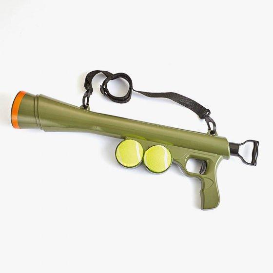 Fusil lance-balles pour chiens