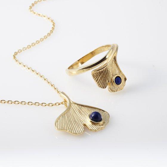 Paroure de bijoux Gingko