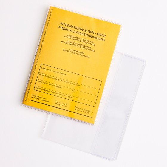 Lot de 2 pochettes pour carnet de vaccination