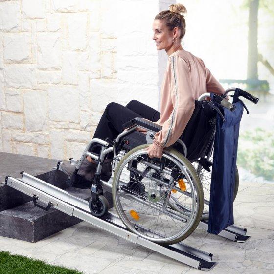 Rampe pour fauteuil roulant