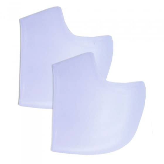 Protège-talon en silicone Lot de 2