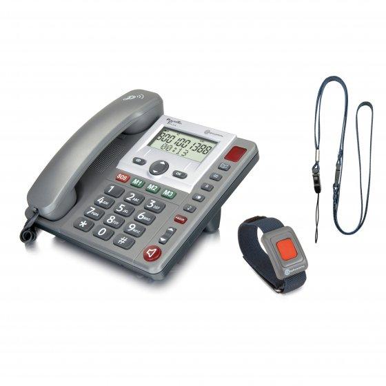Téléphone avec dispositif d'alerte