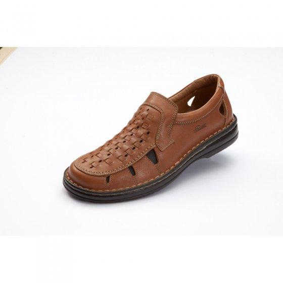 Chaussures d'été tressées main