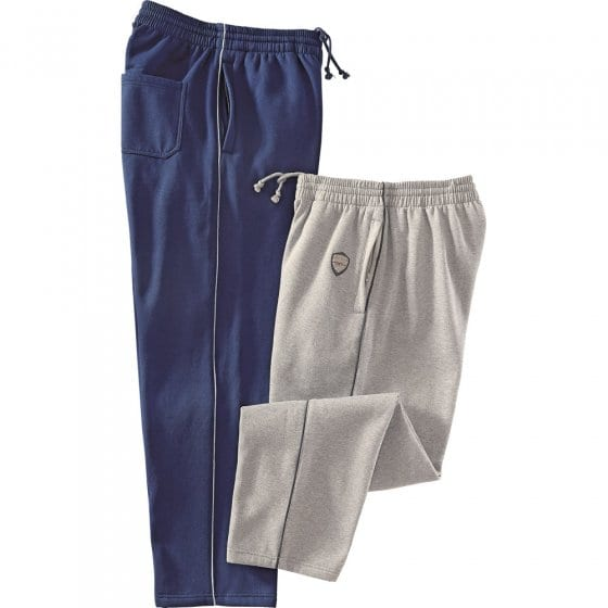Pantalons thermiques en jersey par 2 Les 2