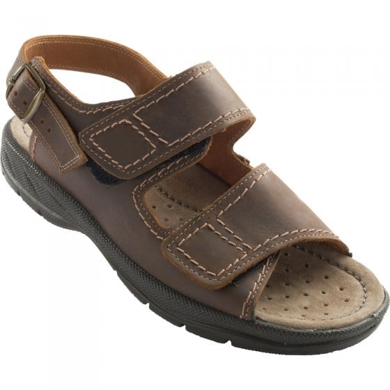 Sandales en cuir Aircomfort