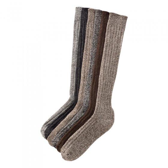 Chaussettes hautes thermiques norvégiennes 6 paires