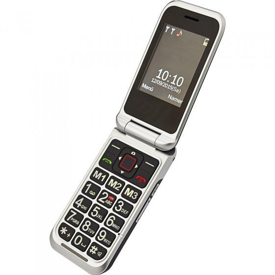 Téléphone mobile à clapet et double écran LCD