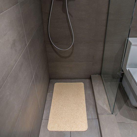 Tapis de douche haute technologie