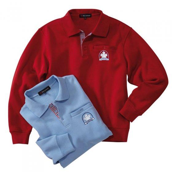 Sweater thermi.contrasté,Rouge 3XL | Rouge