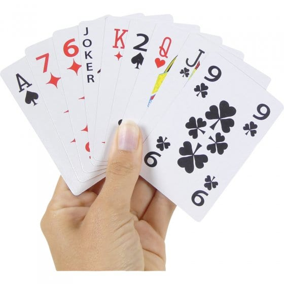 Jeu de cartes XL Lot de 2