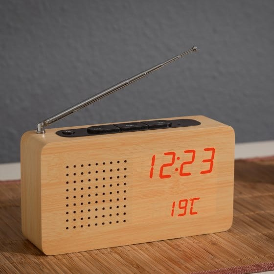 Radio imitation bois