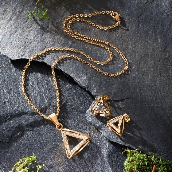 """Parure de bijoux  """"Golden Trio"""""""