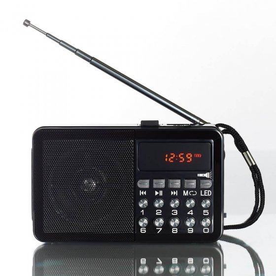 VOTRE CADEAU :  Radio multifonctions avec lampe