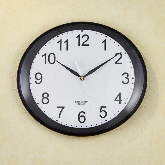"Horloge LED murale  ""Ovalis"""