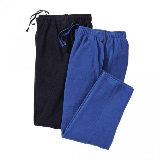 Pantalons en polaire Lot de 2