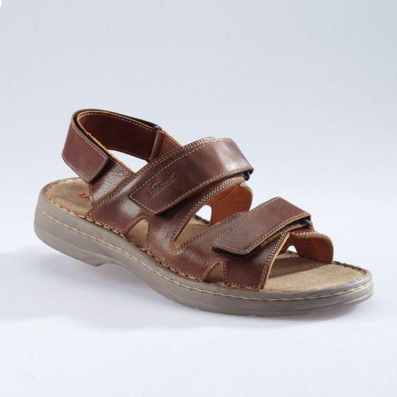 Sandalettes à patte auto-agrippante