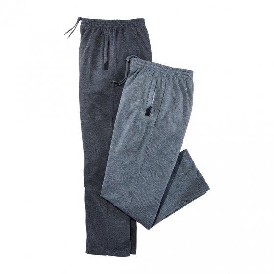 Pantalons détente Lot de 2  3XL | Grisclair#Grisfoncé