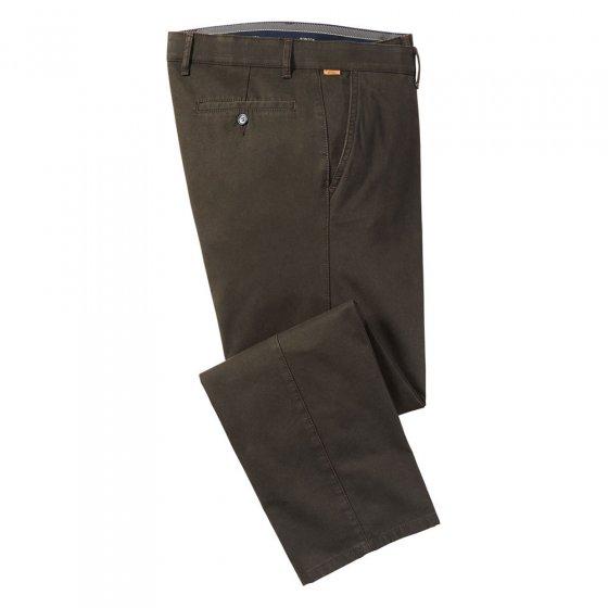 Pantalon en coton à doublure haute technologie