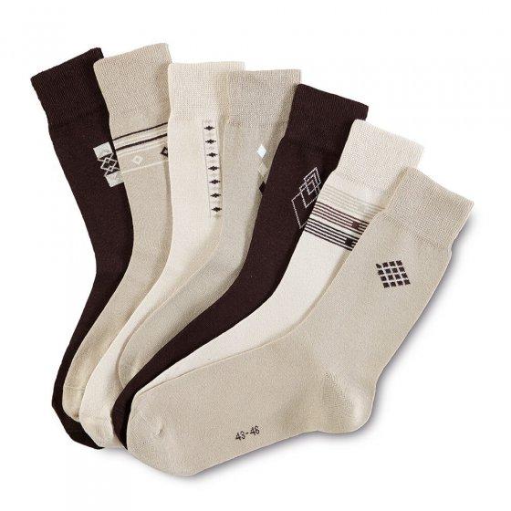 Chausettes en coton stretch