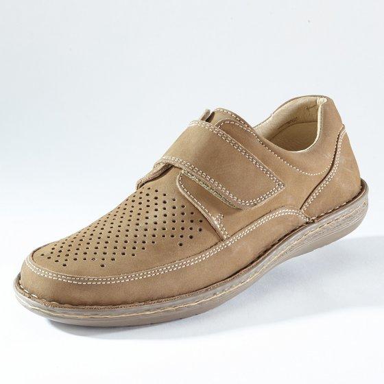 Chaussures scratchées confortables 43 | Beige
