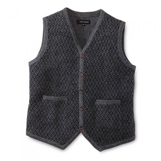 Gilet tricoté jacquard