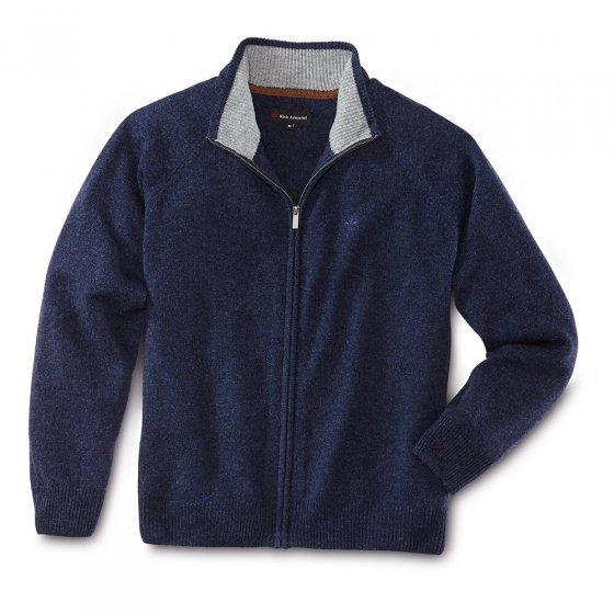Veste en tricot Lambswool