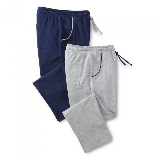 Pantalon de loisirs en jersey Lot de 2