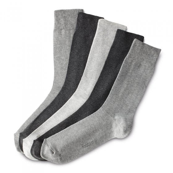 Chaussettes stretch maille chinée Lot de 5