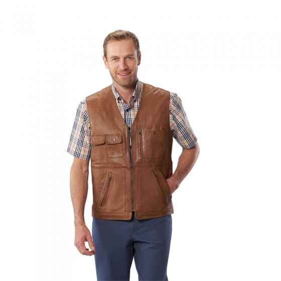 Gilet multipoches 60 | Marronclair