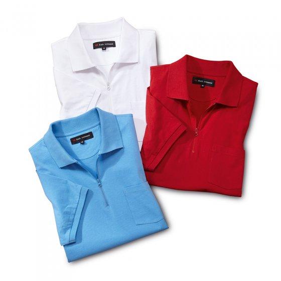 Polo jersey Par lot de 3 paires