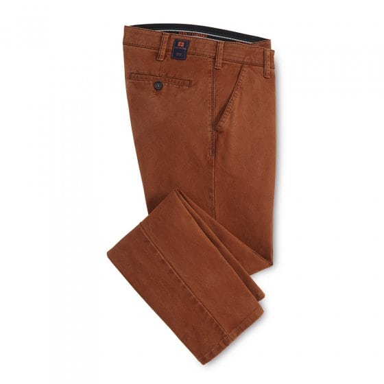 Pantalon e.cot.str.,Cannel.,25 25 | Cannelle