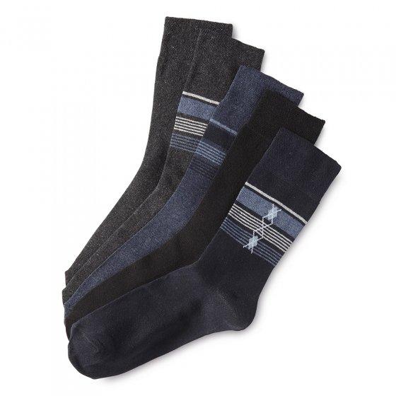 Chaussettes stretch confort Lot de 5