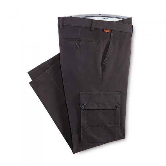 Pantalon cargo fini antitache