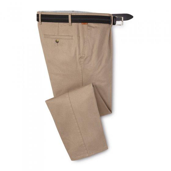 Pantalon confort à pinces