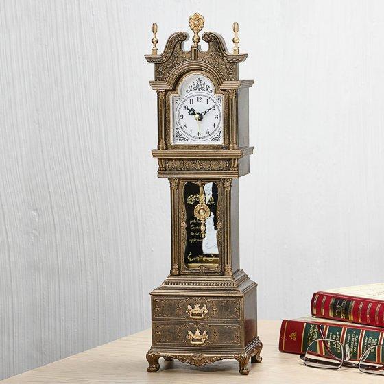 """""""Horloge de grand-mère""""  avec boîte à musique"""