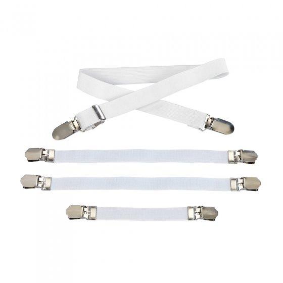 Tendeurs pour housse de planche à repasser 4 pièces Set de 4 pièces